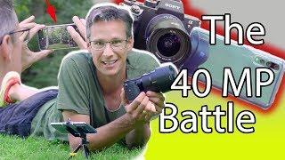 HUAWEI P20 pro VS Profi Kamera 😱 Was hat die bessere Bildqualität?