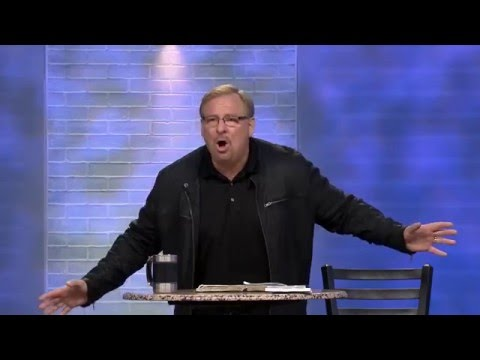Learn How To Overcome Your Failures Through God's Mercy with Rick Warren