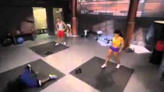 Repeat youtube video The Situation gets an erection while filming work out video