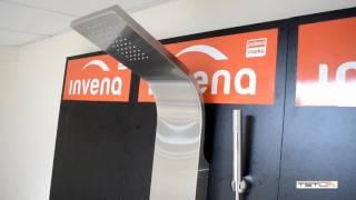 Відео огляд душова гідромасажна панель Invena Mauritius видео обзор колона душевая гидромассажная