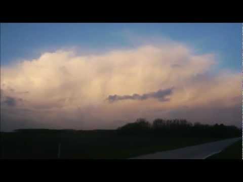 Zware hagelbuien op onstuimige dinsdag 5 februari 2013