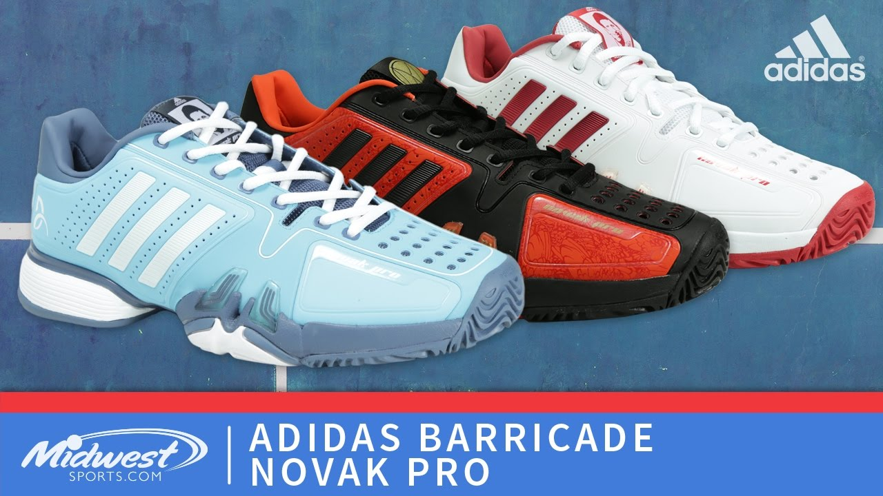 d0138a233c7e adidas Barricade Novak Pro - YouTube