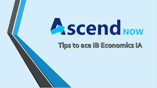 Tips to ace IB Economics IA