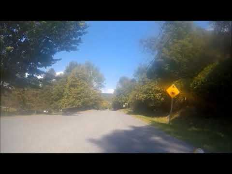 My Terra Trike Trip to Newport VT - Part 1 North Hatley, Quebec, Canada