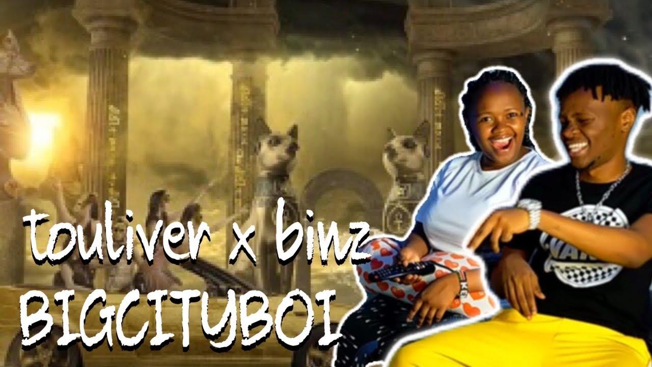 TOULIVER x BINZ - ' BIGCITYBOI'   AFRICAN REACTION VIDEO