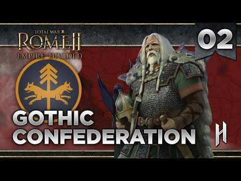 MANI THE MOON GOD | Gothi Mini Campaign #2 - Total War: Rome 2 Empire Divided