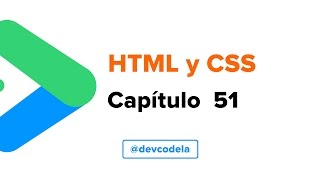 Curso de HTML y CSS #51 - Media: audio