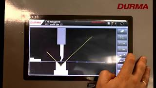 Система ЧПУ - DT10 (Durma Touch 10)