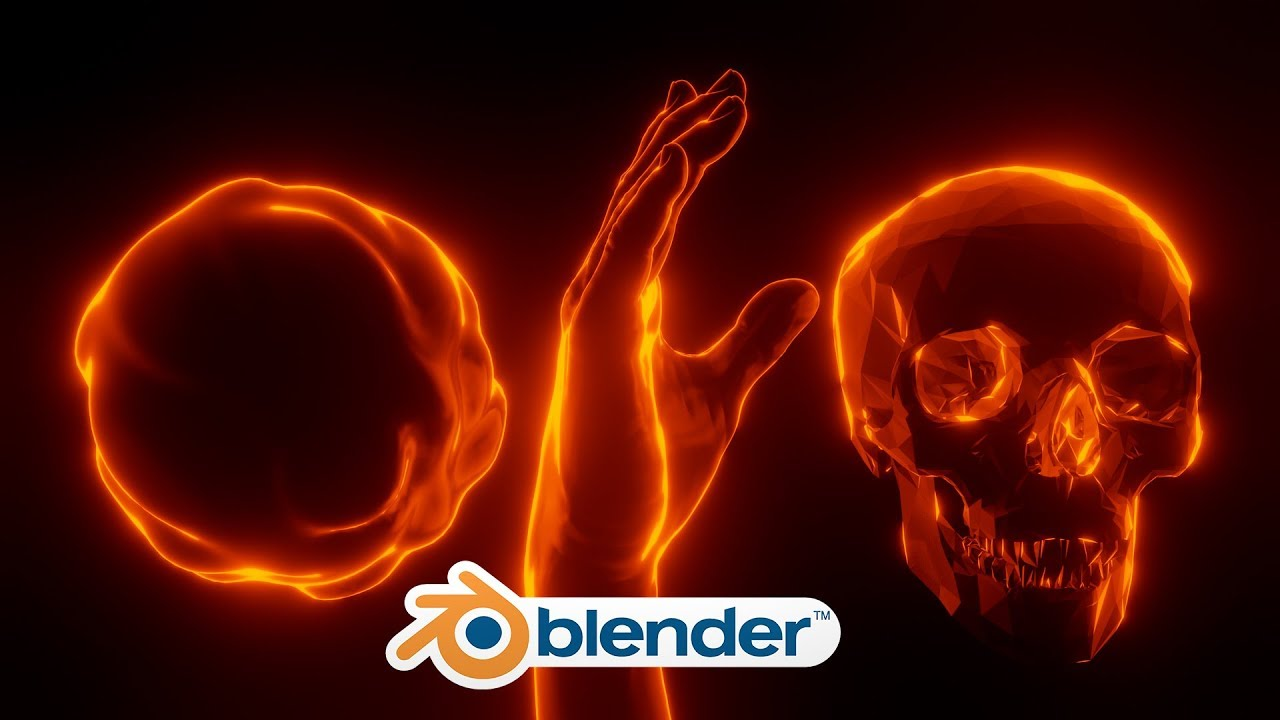 Blender - Stylized Emission Shader (Blender 2.8)