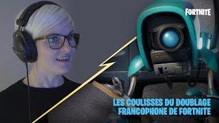 Les coulisses du doublage francophone de Fortnite