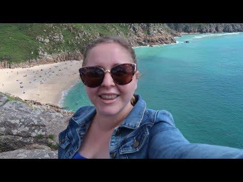 Cornwall Vlog Part 3 - Penzance, Marazion, Porthcurno, Minack Theatre, Mousehole