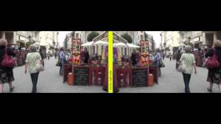 Mirror method 3D movie - Passers-by 02