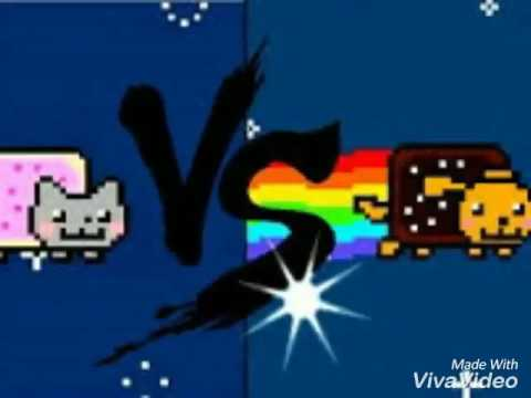 Nyan cat vs nyan dog -Xaviertoby - YouTube Nyan Dog