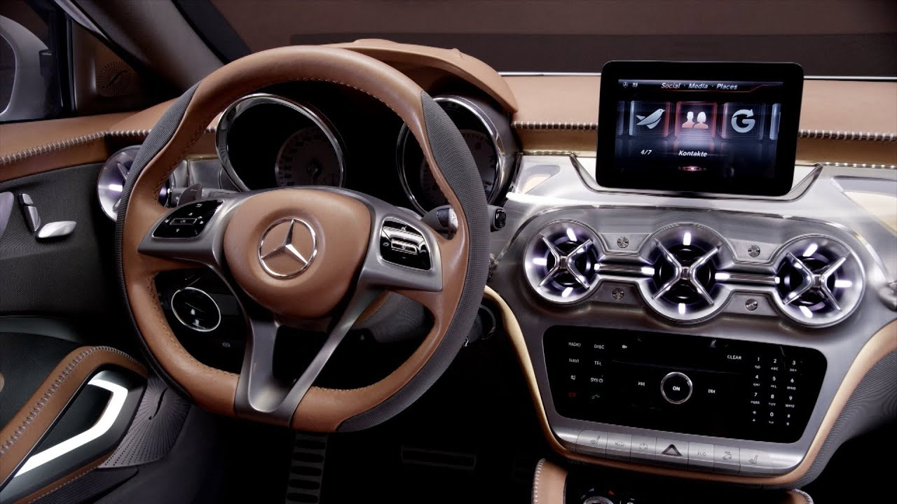 High Quality Mercedes GLA Concept INTERIOR