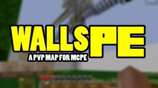 walls pe   minecraft pocket edition pvp map   showcase