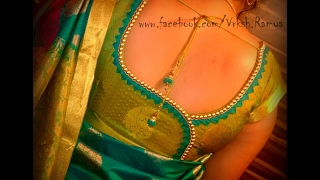 Latest Saree Blouse designs for silk sarees thumbnail