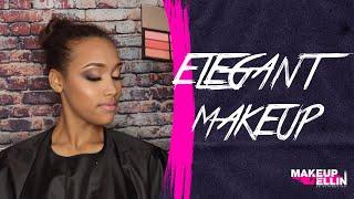 Elegant makeup -  1  полный урок из ONLINE COURSE с Эллин Святимовой-  выпуск 111