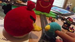 Angry Birds The Movie Happy Meal Toys Review