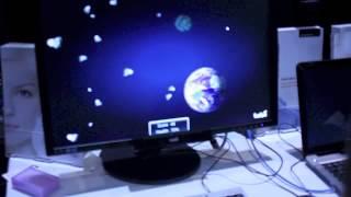 Tobii Eye-tracking Asteroids Game