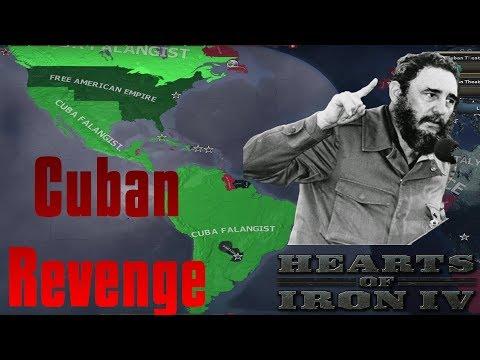 Hearts of Iron IV: CUBAN REVENGE! | With FIDEL CASTRO!
