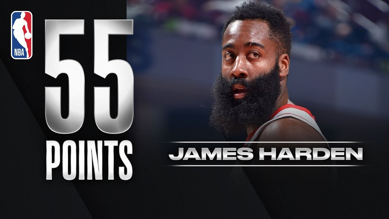 Harden DROPS 55 in Win on Career-High Tying 10 3PM!