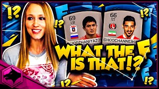 WHAT THE F IS THAT !? | FIFA 16 LONGEST NAMES SQUAD BUILDER