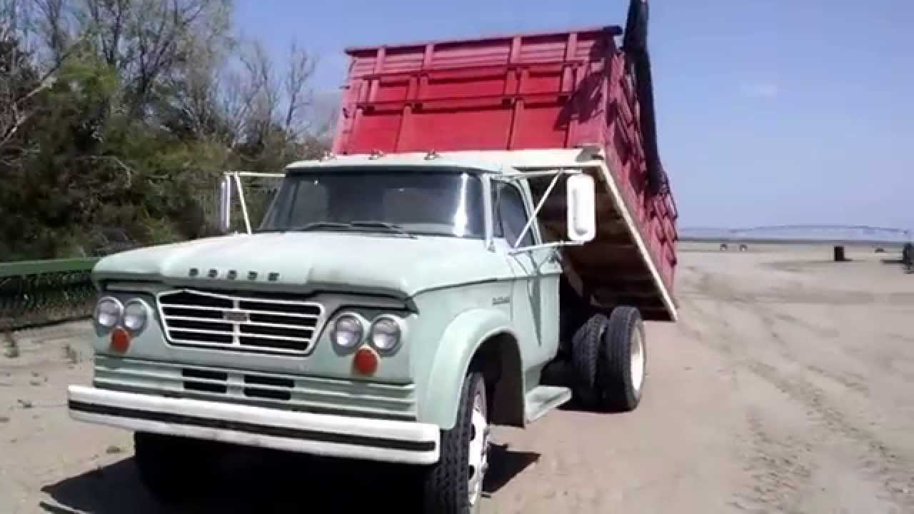 63 Dodge 500 Grain Truck (AS0485) Bigiron.com Online Auctions, May ...