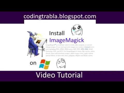 Install imagemagick php 7 windows