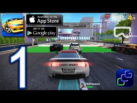 Ridge Racer Draw & Drift by Bandai Namco Android iOS Walkthrough - Gameplay Part 1