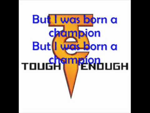 WWE Tough Enough Theme w/ lyrics - Champion by Chipmunk (feat. Chris Brown)