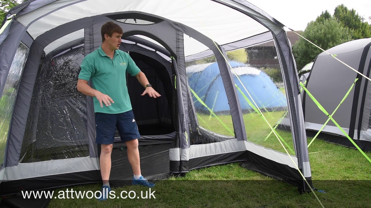 K&a Hayling 4 Air Pro Tent Review 2018  sc 1 st  YouTube & Kampa Hayling 4 Air Pro Tent Review 2018 - YouTube
