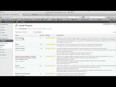 How to Install a Chat Room in WordPress : Tumblr & Other Social Media