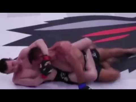 New Signee Askar Askarov finishes Anthony Leone with a unique Twister