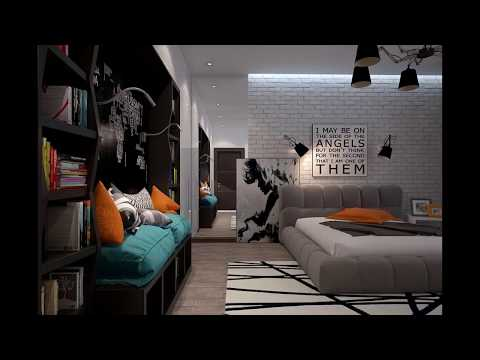 Bedrooms With Exposed Brick Walls Modern Design Ideas