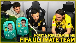 Morey & Schulz build their FIFA Ultimate Team | BVB x eFootball