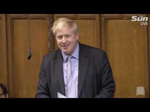 Brexiteer Boris on eve of Brexit deal vote