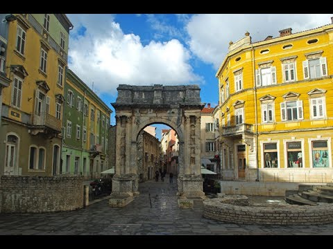 Old Town Tour - Pula Croatia