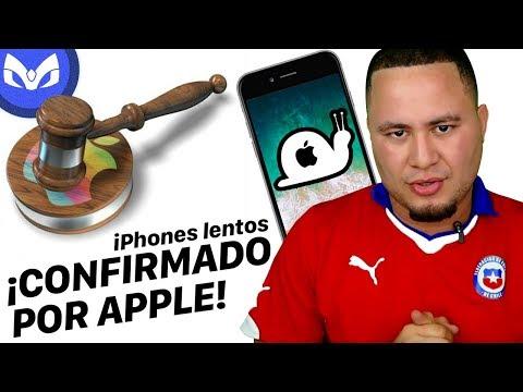 DEMANDA A APPLE POR PONER LOS iPhone LENTOS !