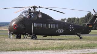 sikorsky s 58 h 34 engine start fail with flames