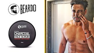 Best Face Scrub for Indian Men | Beardo Activated Charcoal Face Scrub