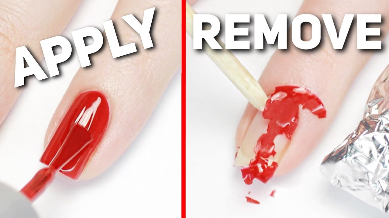Apply  Remove Gel Polish PERFECTLY At Home  YouTube