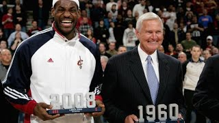 Jerry West preparing the way for LeBron to L.A.?!