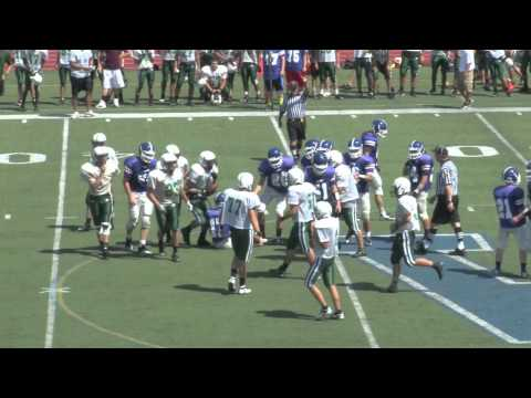 Westfield High School Football - Anderson Setting the Tone on D