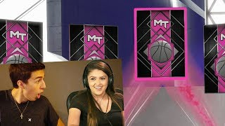 GIRLFRIEND DRAFTS A PINK DIAMOND! NBA 2K18 DRAFT