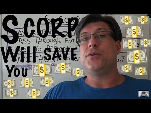 S-CORP 🏢 for SELF EMPLOYED TO SAVE SELF EMPLOYMENT TAX / HOW TO SAVE MONEY