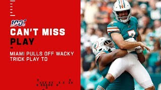 Miami Special Teams Pulls Off the Wacky Trick Play TD!