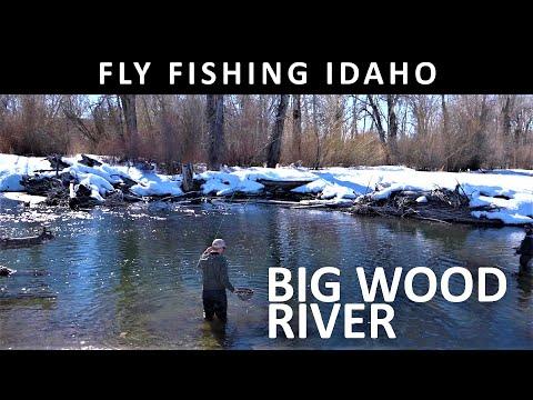 Fly Fishing Idaho Big Wood River Near Picabo March Trailer