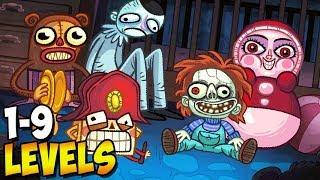 - ТРОЛЛФЕЙС ХЭЛЛОУИН  Troll Face Quest Horror 2 Специальный Хэллоуин 1 Прохождение