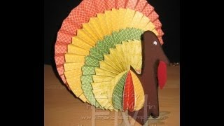 Paper Turkey frenchiestamps.com