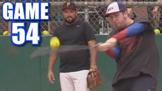 SPIDEY HIT IT WHERE?! | On-Season Softball Series | Game 54